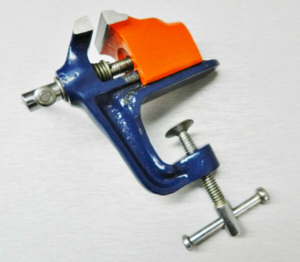 Mini Vise Bench Vise With Clamp for Workbench Miniature 1-14