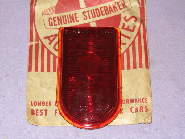 NOS 1947-49 Studebaker Champion Directional Light Lens