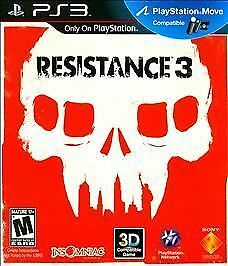 Resistance 3 for PlayStation 3 PLAYSTATION 3 PS3 Shooter Video Game $14.48