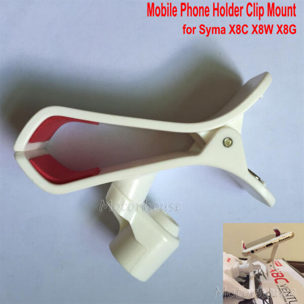 Syma x8c x8w x8G RC Drone Quadcopter Transmitter Mobile Phone Clip Holder Mount