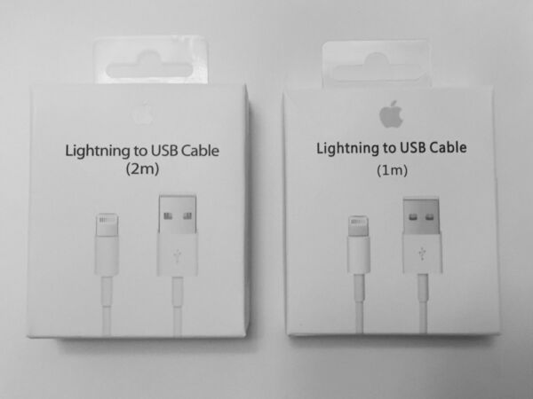 New Apple Lightning Cable USB Cable Charger iPhone X 8 7 6S Plus 5 SE 12M 36FT