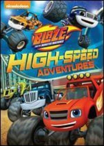 Blaze and the Monster Machines: High-Speed Adventures [New DVD] Ac-3Dolby Dig