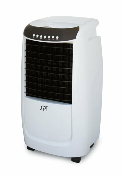 Sunpentown SF6N25 Portable Evaporative Air Cooler With 3D Cooling Pad For 250 sq