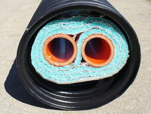 1quot; 200#x27; Insulated Outdoor Furnace Oxygen Barrier 3 Wrap Pex Al Pex Pipe $1160.00