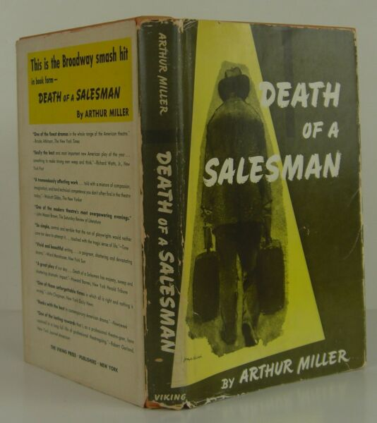 ARTHUR MILLER Death of a Salesman SIGNED FIRST EDITION