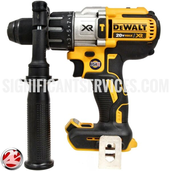 DeWALT DCD996 20V MAX XR Cordless Li-Ion Brushless 3-Speed 1/2 in. Hammer Drill