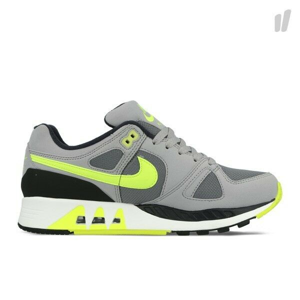 312451-003 Men's Nike Air Stab Cool Grey Wolf Grey Anthracite Volt Authentic