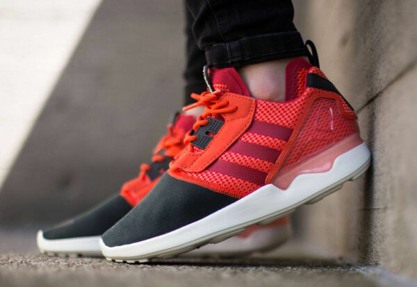 Adidas ZX 8000 Boost B26368 Solar Red Mens Running Shoes DS NEW IN THE BOX $140