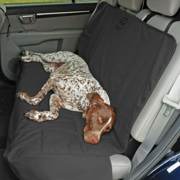 Petego Emanuele Bianchi Dog Car Auto Pet Rear Seat Cover Protector Anthracite $49.99