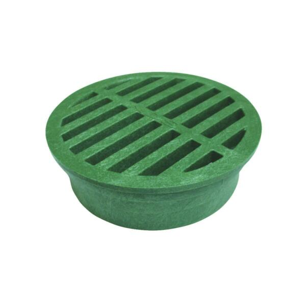 NDS 4quot; Green Round Grate