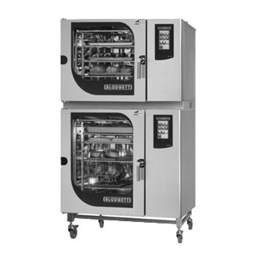 Blodgett BCT-62-102E Double Stack Electric Combination-OvenSteamer