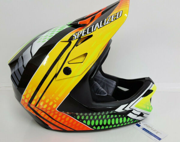 New Specialized Bike Cycling Dissident Dh Helmet Troy Brosnan Signature Medium $199.99