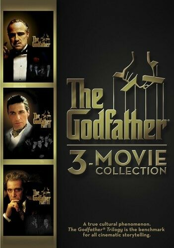 Godfather 3-Movie Collection DVD