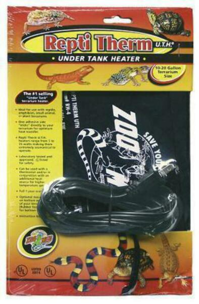 Under Tank Heater 10-20 Gallon (6