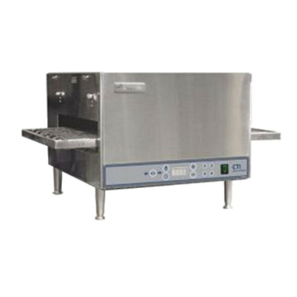 Lincoln V2500-2 Countertop Electric Double Stack Ventless Conveyor Oven