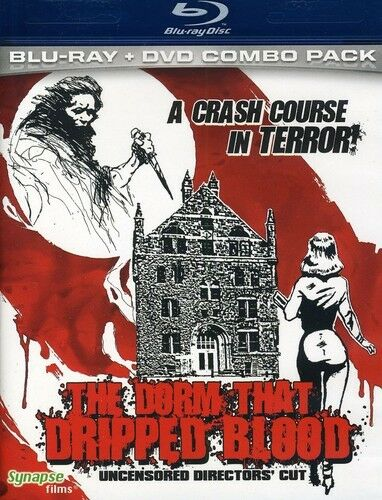 The Dorm That Dripped Blood Pranks New Blu ray With DVD Widescree