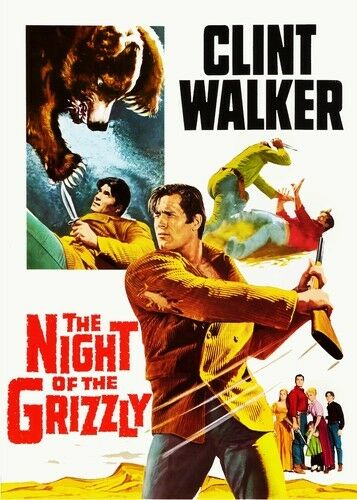The Night of the Grizzly New DVD Colorized Rmst Widescreen