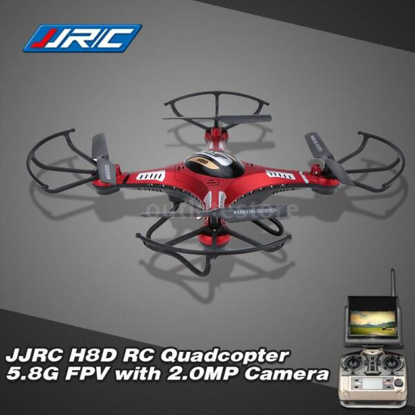 JJRC H8D RC Quadcopter 5.8G RTF Headless Drone 2.0MP Camera LCD Monitor US M9Y2