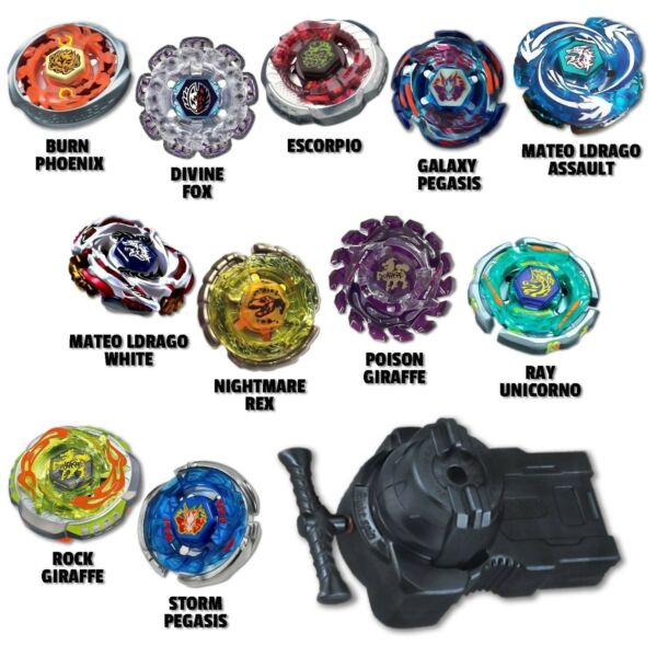 Beyblade Ultimate Beast Package w 4 Random Beyblades Equipped with LR Launcher