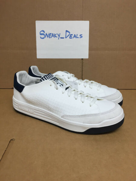 Adidas Originals Rod Laver Super PK Primeknit Vintage White Navy Blue S80512 nmd