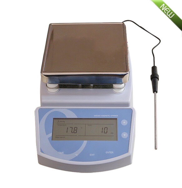 UPS Heating Hot Plate Magnetic Stirrer Mixer Heater Chemical Laboratory 0-300 °C