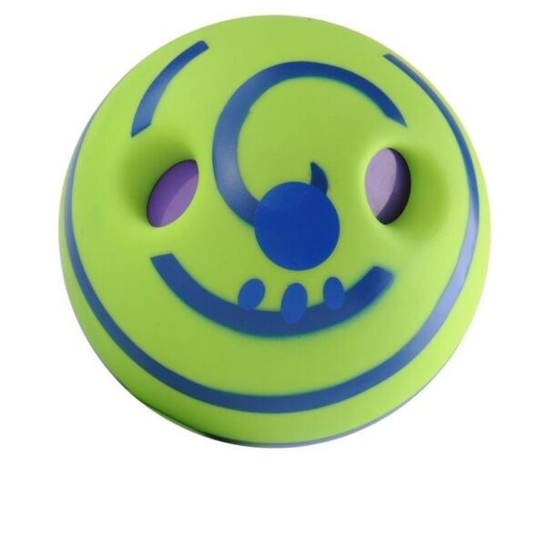 Wobble Wag Giggle Ball for Dog Toy 5.5