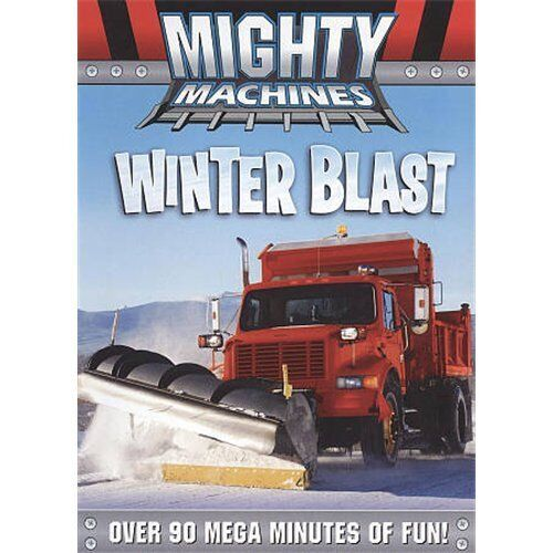Mighty Machines: Winter Blast (DVD, 2010) New