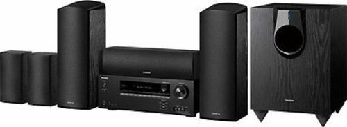 Onkyo HT-S5800 5.1. 2-Channel Dolby Atmos Home Theater Package in Black