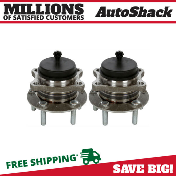 Rear Wheel Hub Bearing Assembly Pair 2 for Kia Sorento Hyundai Veracruz Santa Fe $77.73