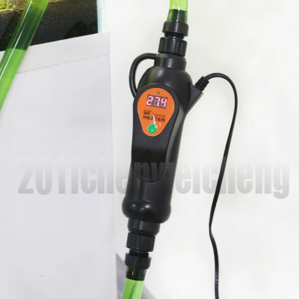 LED display external heater for aquarium fish tank canister filter 300W  500W