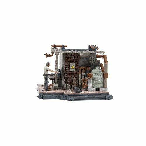 Construction Sets The Walking Dead TV Prison Boiler Room Play Set