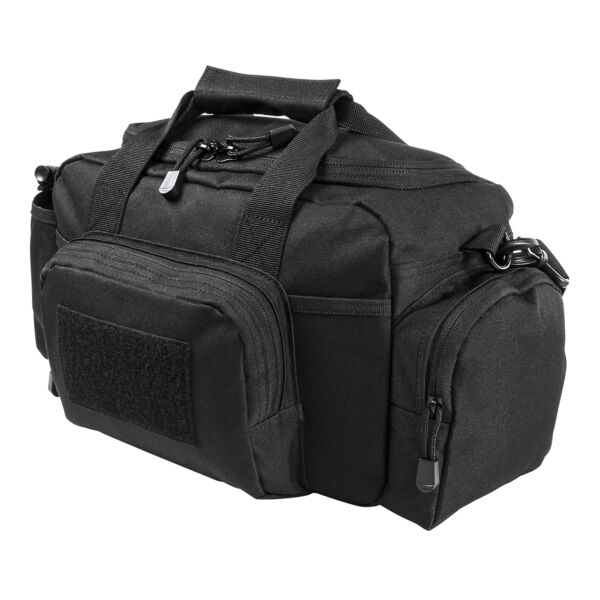 NcStar BLACK Small Range Deployment Bag MOLLE Modular Shoulder Carrying Pack