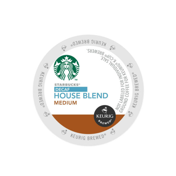 Starbucks House Blend Decaf Keurig K-Cups 24-120 Count - FREE SHIPPING