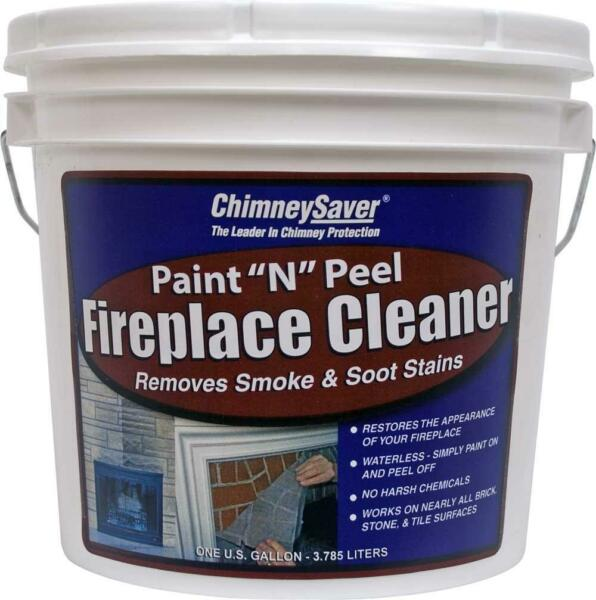 Chimney Saver Paint N Peel Fireplace Cleaner 1 Gallon