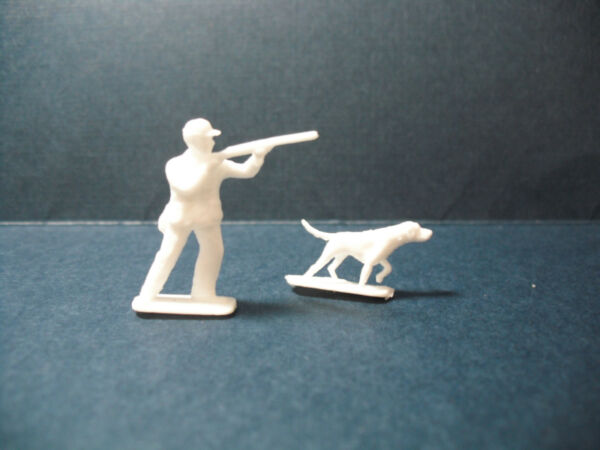 Matchbox Lesney Replacement Hunter and Dog for# 42 B Studebaker Wagonairre OEM $9.95