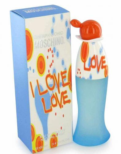 I Love Love by Moschino for Women 3.4 oz 100 ml EDT Perfume Spray NEW IN BOX $34.49