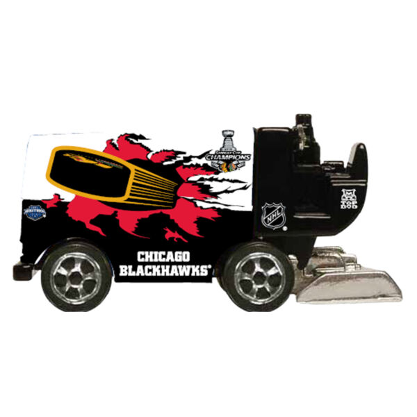 TOP DOG NHL CHICAGO BLACKHAWKS STANLEY CUP 1:50 Scale Zamboni FREE SHIP $9.99