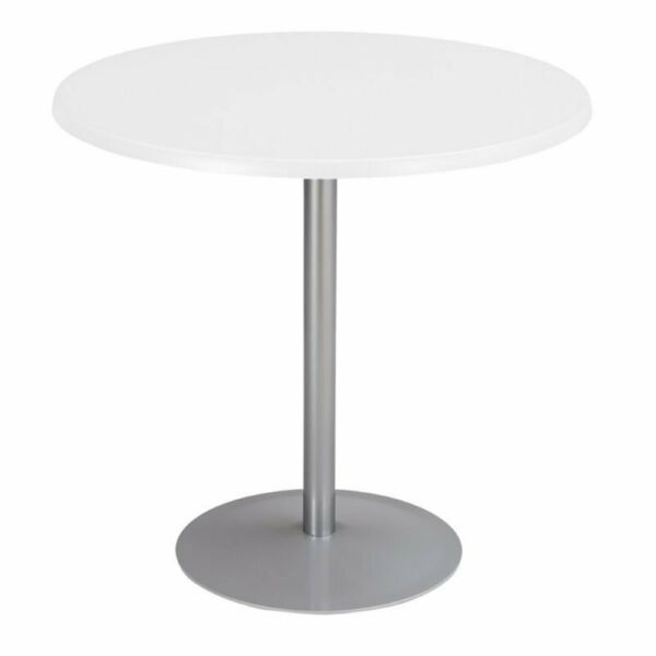 Safco Round Patio Bistro Silver Table Base Only $101.09