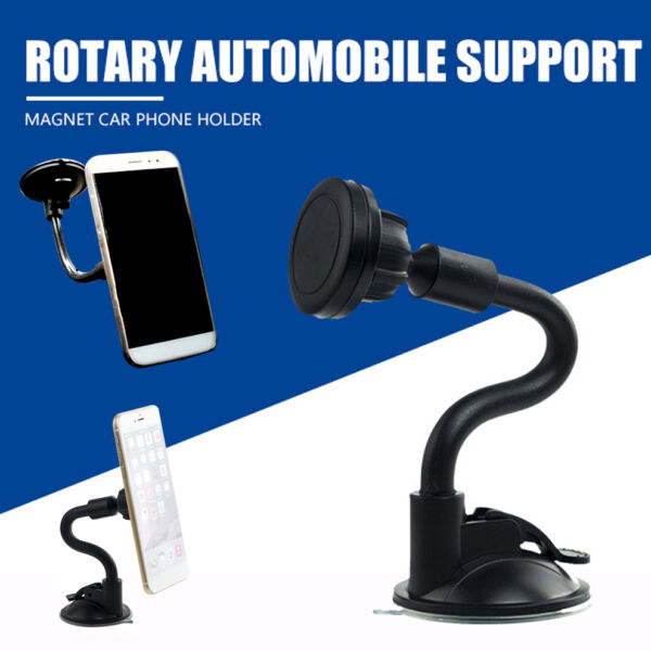 Car Windscreen Dashboard Suction Magnetic Stand Holder Mount Kit For Phone GPS