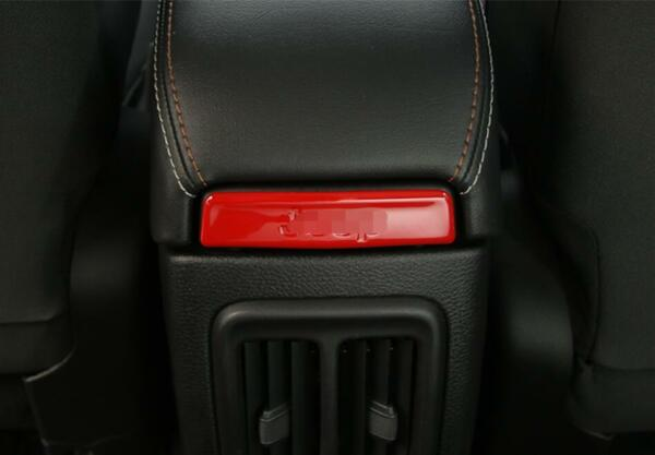 Colorful Interior For Jeep Compass 2017 2020 Armrest Box Decoration Cover Trim $9.00