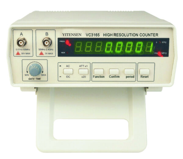 1 New YITENSEN PAKRITE R High Resolution Frequency Counter w Probe VC3165 USA