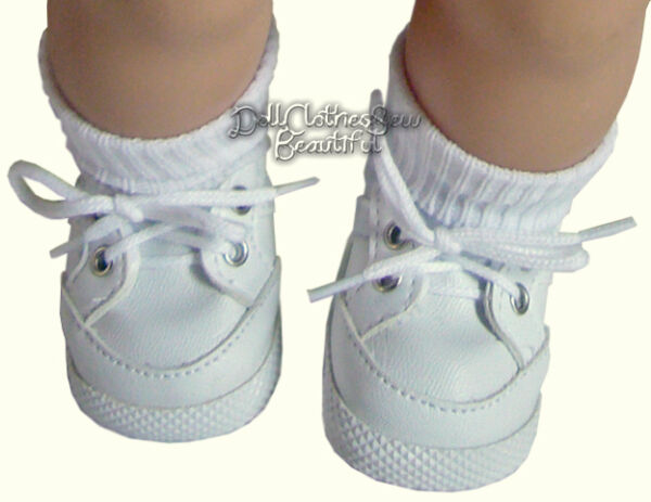 White Gym Shoes Top Quality made for 15