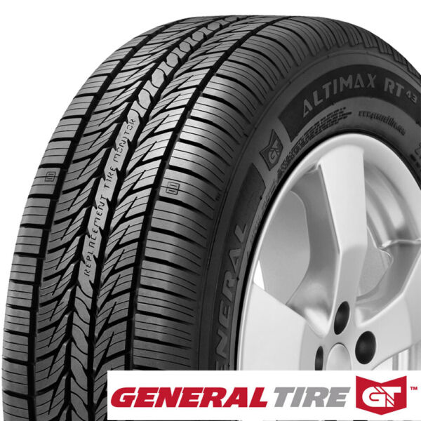 GENERAL AltiMax RT43 22555R17 97H (Quantity of 4)