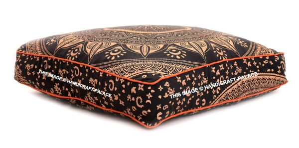 Indian Ombre Mandala Floor Pillow Tapestry Meditation Cushion Cover Dog Bed 35