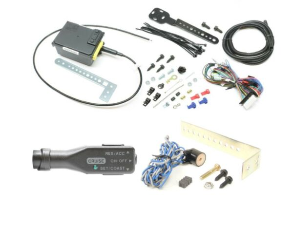 Rostra 250-1223 Universal Cruise Control Kit, Right Hand Switch, Magnet VSS Kit