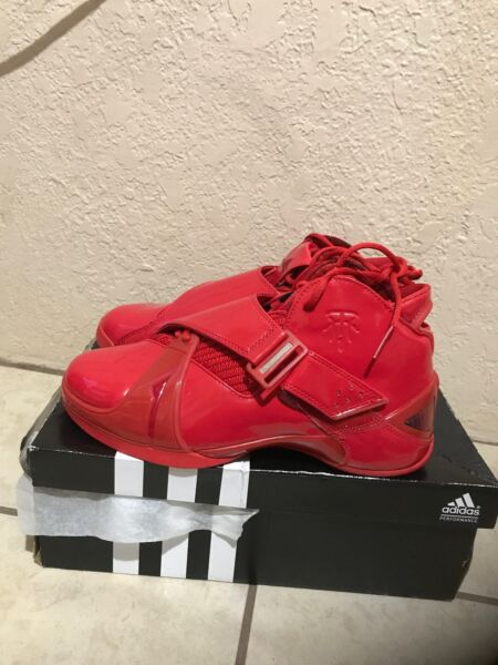 DS RARE China release ONLY ADIDAS 5 V T MAC Tmac MCGRADY Red/Red SZ 9 men