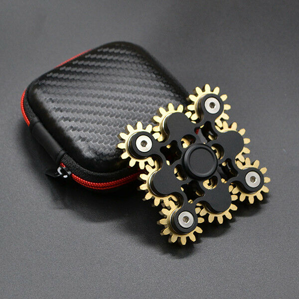 High-Quality Gear Fidget Hand Spinner Gyro Kid's Toy EDC ADHD Autism Gift