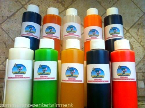 Snow Cone Syrup Flavor Mix Concentrate Shaved Ice Kone Mix  *** 5 PACK****