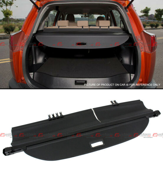 For 2013-2018 Toyota Rav4 SUV Retractable Trunk Cargo Cover Luggage Shade Shield