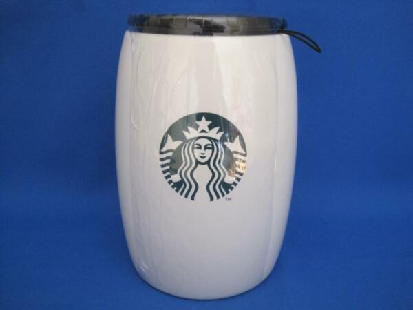 Starbucks Coffee Canister Green Mermaid Logo New 7
